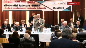 "CONGRESUL NATIONAL al Federatiei Nationale ""OMENIA"" 10.05.2019"